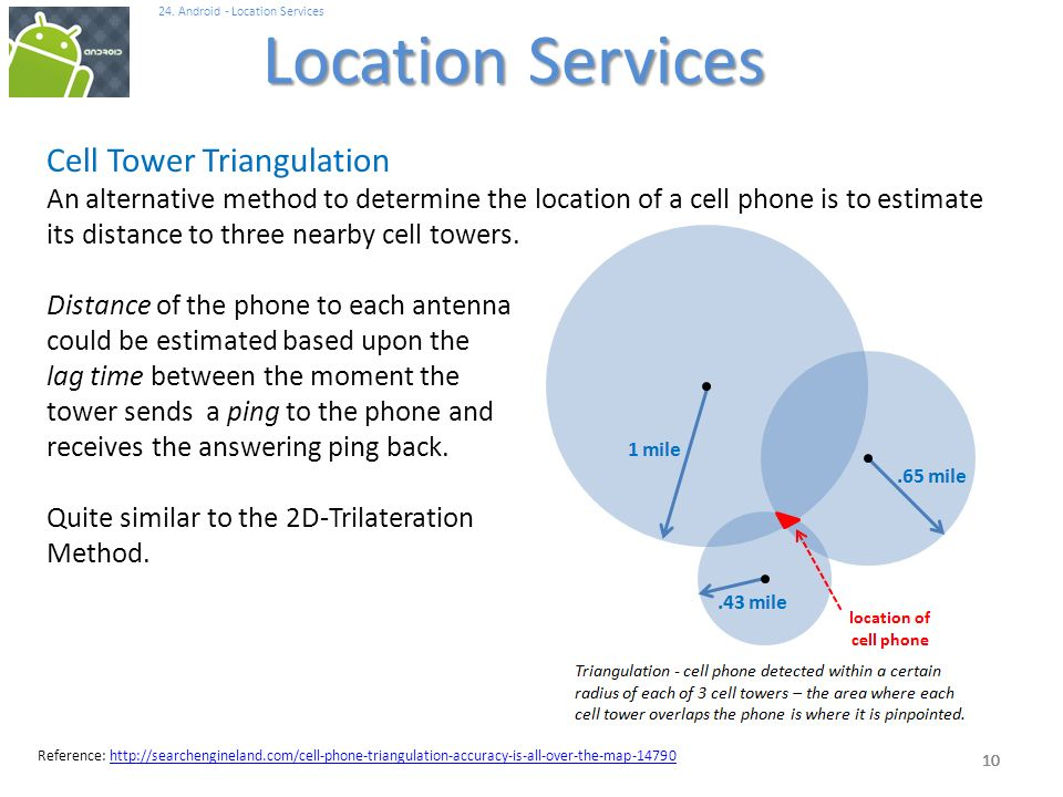 Cell Phone Triangulation Accuracy – Home Exsplore