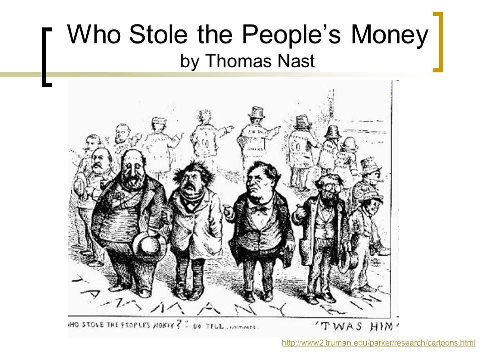 Who Stole the People's Money by Thomas Nast