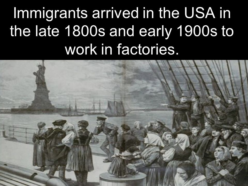 Essay on immigration in the late 1800s