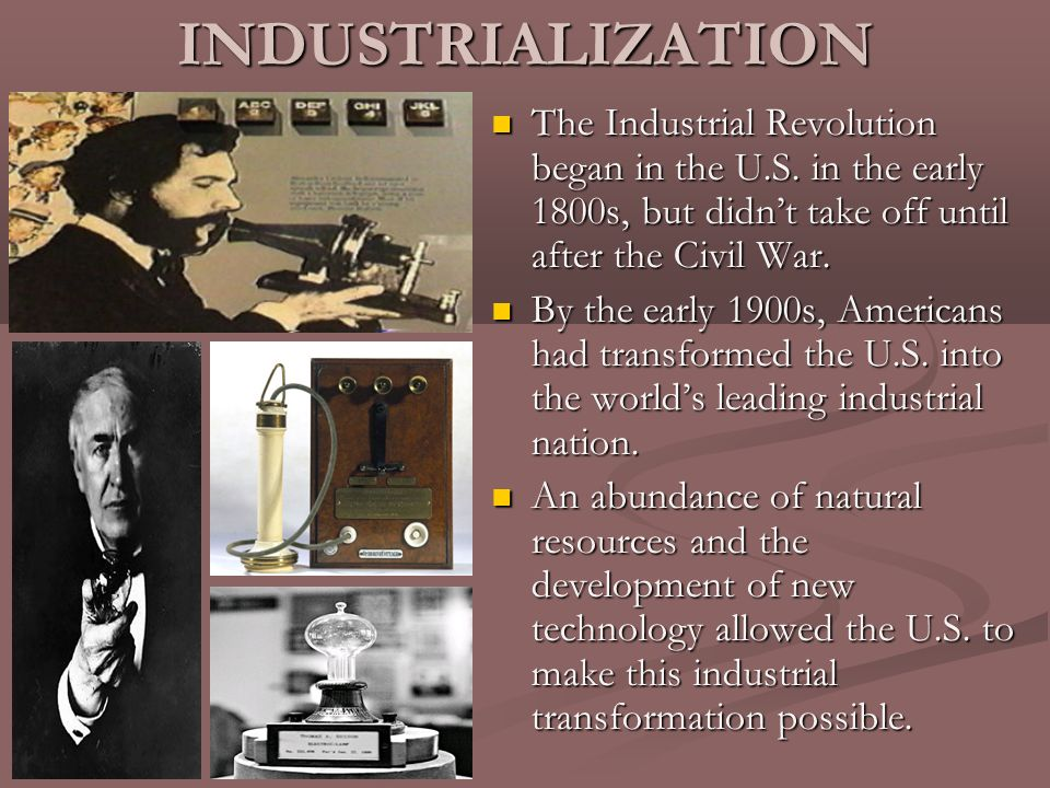 industralization after civil war essay View essay - industrialization after the civil war thesis and outline from his 105 at strayer university week3 assignment 11 industrialization after the civil war thesis and outline assignment.