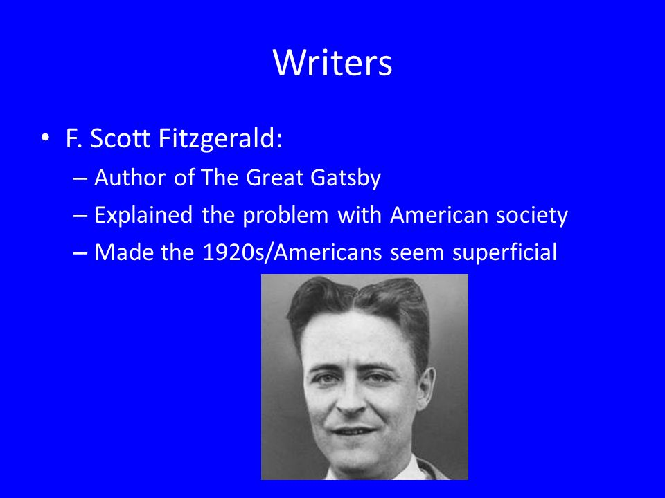 The obsession with time in the great gatsby by f scott fitzgerald