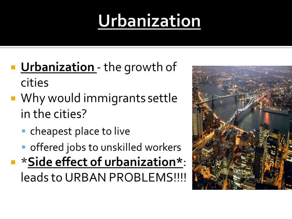 Immigration Amp Urbanization Ppt Video Online Download