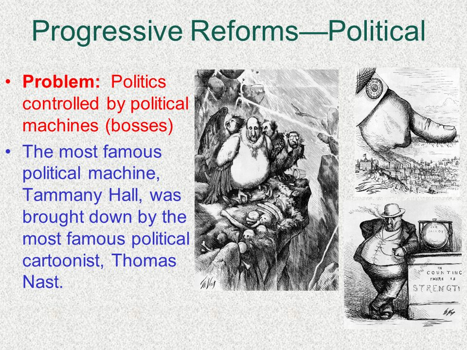 political reform of progressive era Progressive reform unit: progressive era, topic: progressive reform , social changes, & politics of progressive era duration: 1 ½ day objective/learning target.