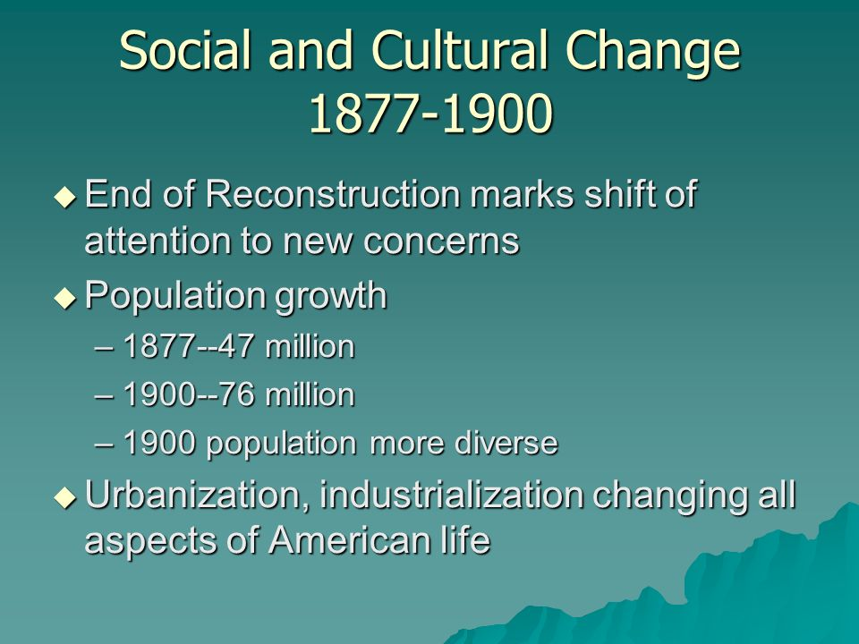 social and cultural change pdf