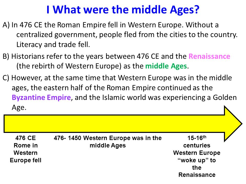 why the middle ages were called the dark ages essay Actual historians know that the dark ages, insofar as they were dark by the church in the so-called dark ages pagans who turned out the lights.