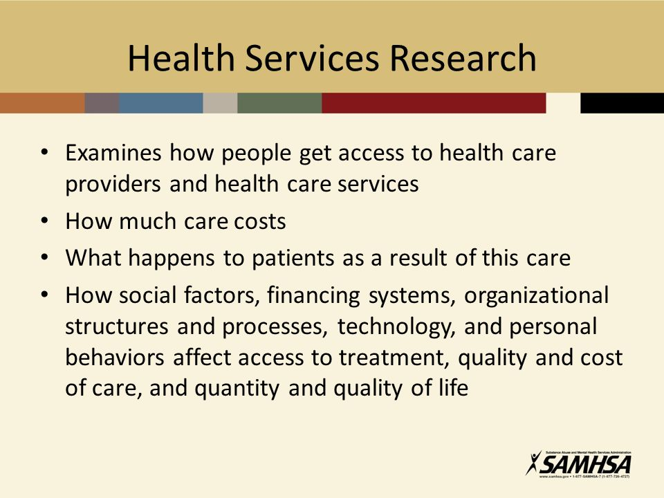 health services research Bmc health services research is an open access journal publishing original peer-reviewed research articles in all aspects of health services research, including.