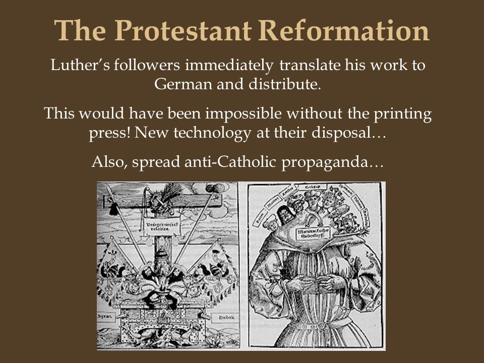Printing press reformation | Custom paper Example