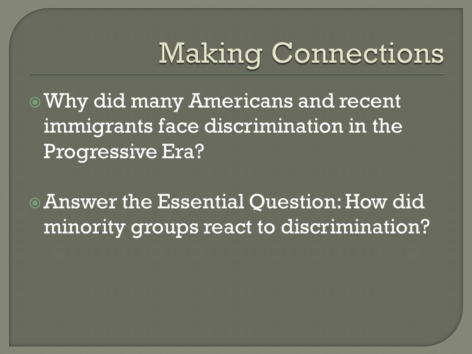 the many faces of discrimination in america That appears to hold true for the many americans who feel discriminated against,   poll: is there a lot of discrimination against gay people in the us  believe  blacks, migrants, and gay people face discrimination in us.