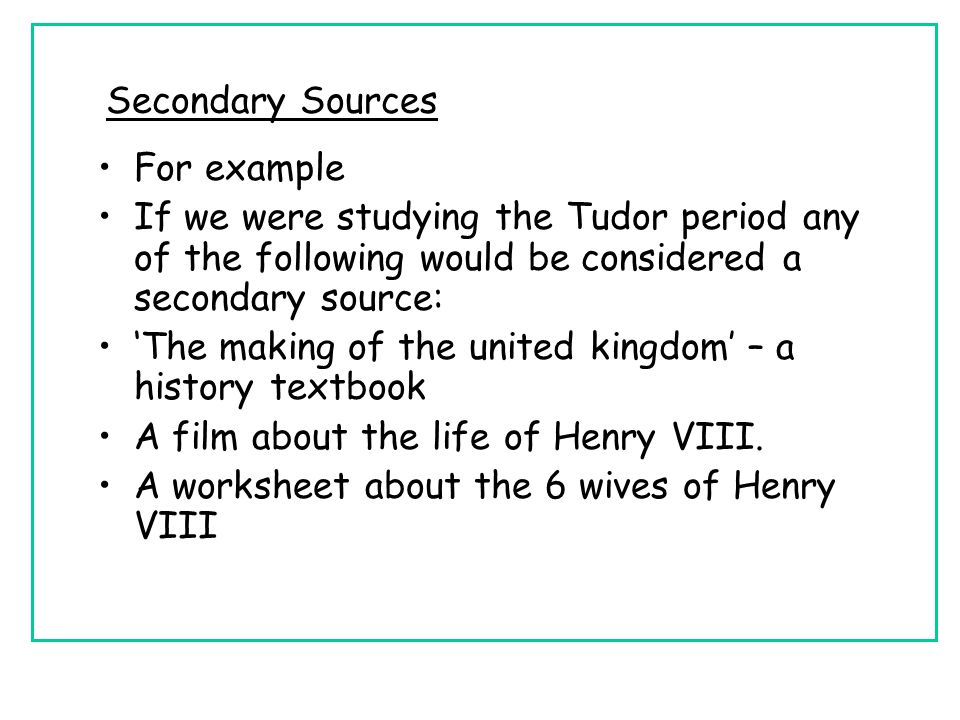 Primary Secondary Sources ppt video online download – Primary Secondary Sources Worksheet