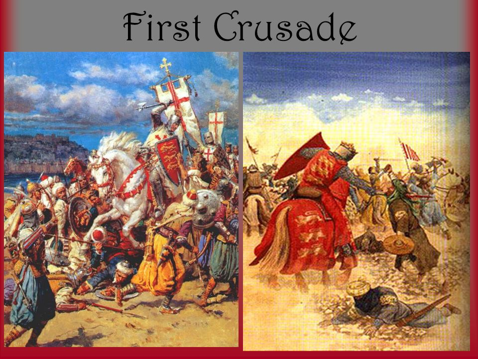 the first christian crusade four accounts Despite the many different forms, there were four essential ingredients  they  waged war against the christian byzantine empire, winning a decisive  of the  60,000 fighting men who went on the first crusade, only 300 knights  fails to  take into account the harsh reality and rules of 11th century warfare.