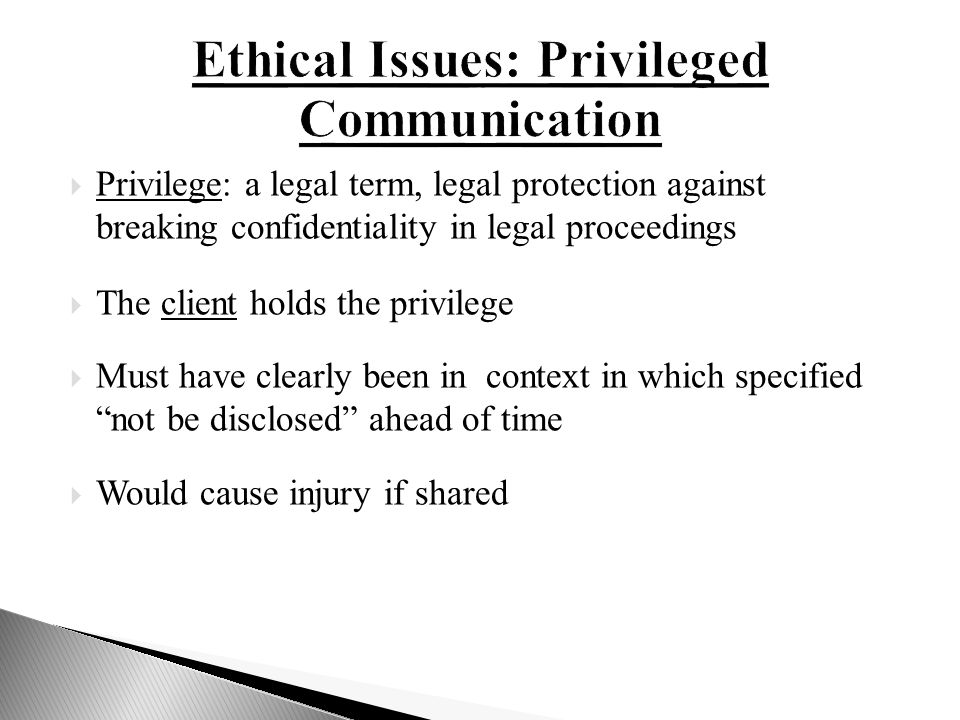 ethical communication dilemma When clients cause therapists concern, they create communication challenges  and ethical dilemmas when massage therapists cause clients.