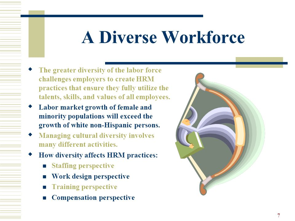 A Diverse Workforce