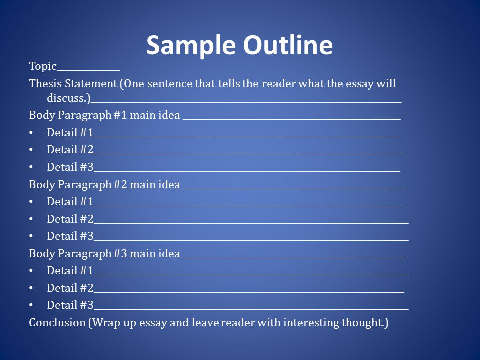 outline and discuss in detail the Outlining main ideas and details by  create their own outline for the purpose of presentation  have students read through the article and discuss the main.
