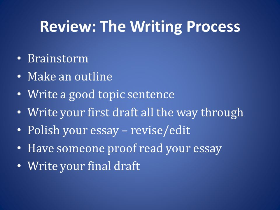 instructor larisa duravetz ppt   have someone proof your essay write your final draft review the writing process