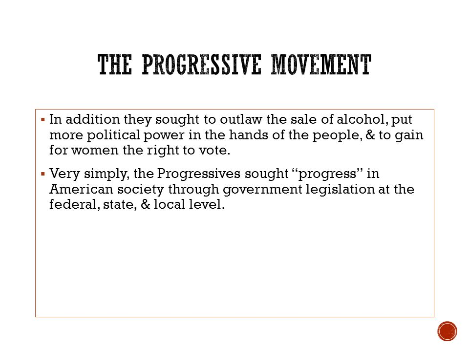 the transformation of american politics in the progressive era The progressive movement and the transformation of american causes, accomplishments timeline in other words, they were the progressive era was marked by a r.