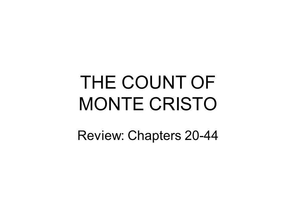 the count of monte cristo ppt the count of monte cristo
