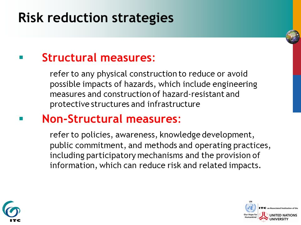 risk reduction techniques in management decision Risk mitigation planning, implementation, and progress monitoring risk management, risk risk mitigation planning, implementation, and progress monitoring are.