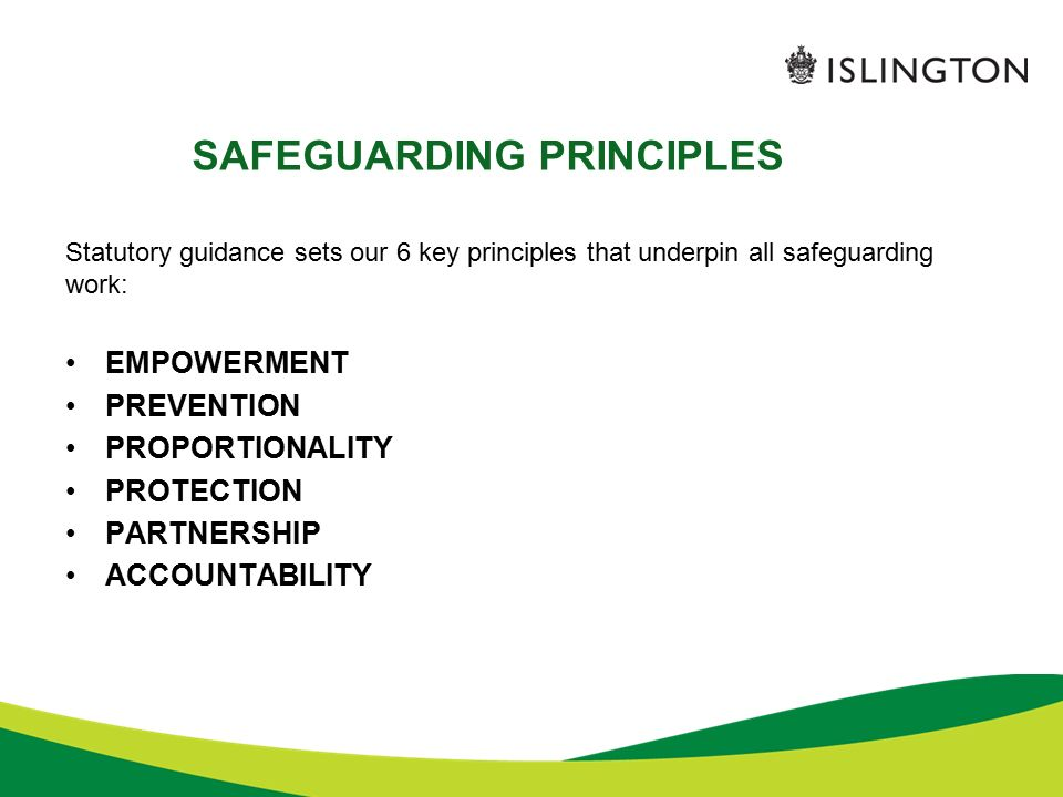 principles of safeguarding and protection principles Safeguarding principles procedure 10 scope and applicability 1 all projects must conform to the gold standard safeguarding principles as set out in.