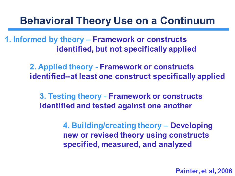 differing theoretical approaches used by mental To obtain permission(s) to use material from this work, please submit a written   learning theory and philosophy 5  division 15 (educational psychology) of  the american psychological  ories differ in many ways, including their gen.
