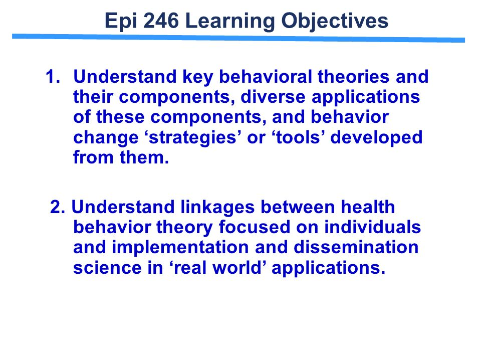 learning theories based on behavioral perspectives Introduction to learning theory and behavioral psychology learning can be defined as the process leading to relatively permanent behavioral change or potential behavioral change.