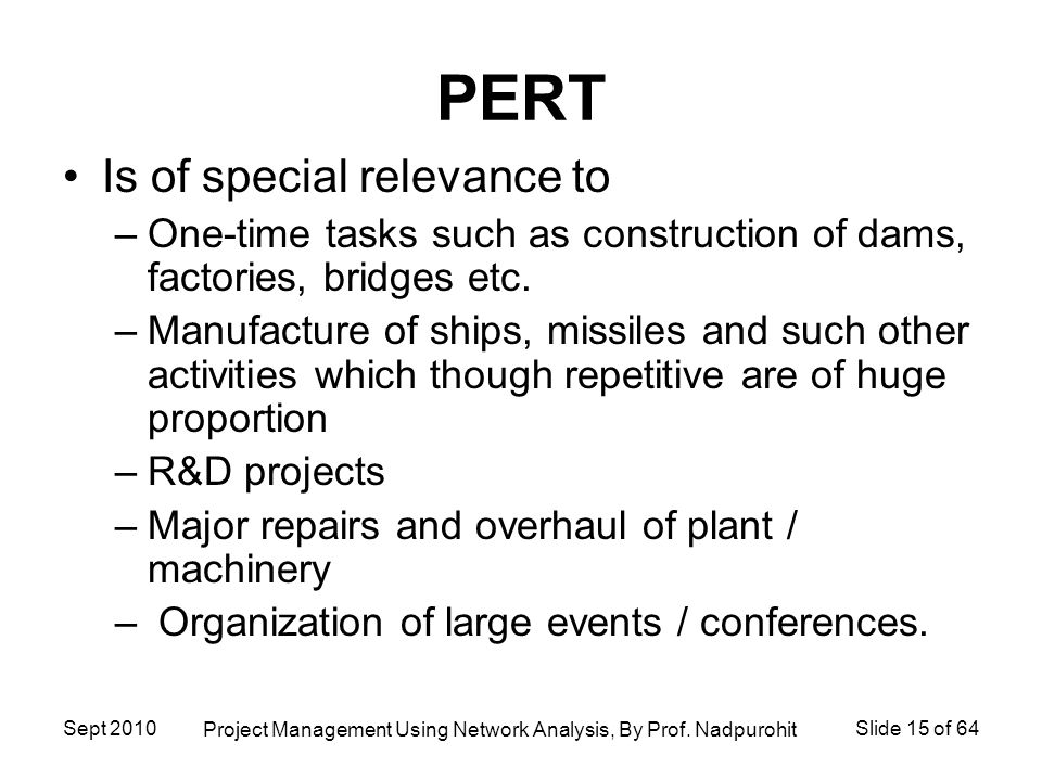PERT: Meaning and Steps | Network Analysis | Project Management