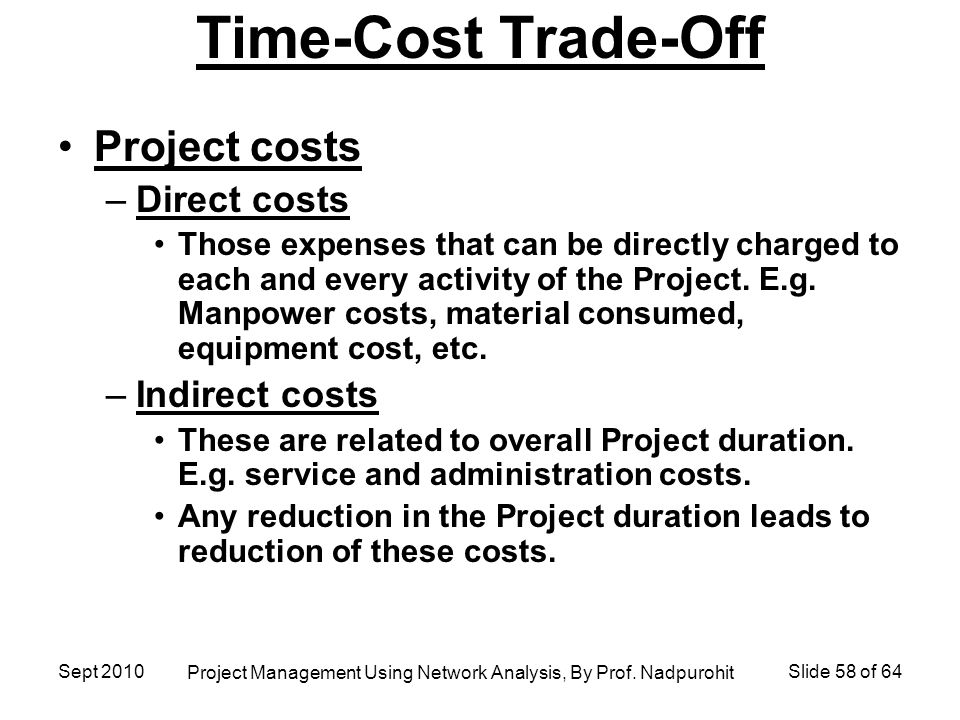 project report on cost reduction and High level means to identify atypical project costs and candidate areas for  potential cost reductions • identify the significant cost-drivers of.