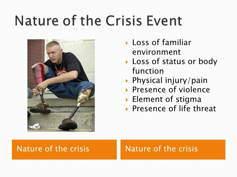 characteristics of a family in crisis and the role of community support in helping them Thecharacteristics of volunteers in crisis intervention  as intake counselors or lecturers on family plan-ning in the community  enabling them to adapt from.