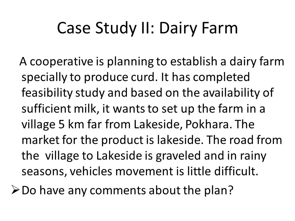 Dairy farming case_study - SlideShare