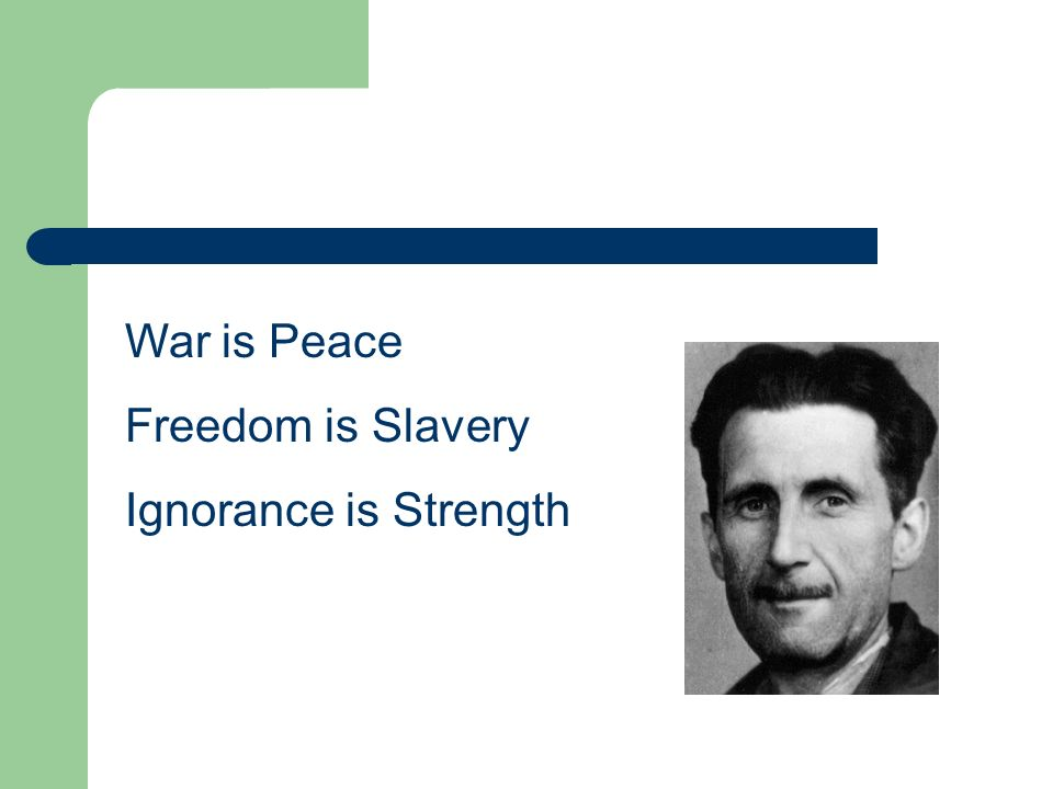 keeping peace and freedom essay Sample a+ essay how to cite this sparknote  important quotations explained 1 war is peace freedom is slavery ignorance is strength  freedom is slavery.