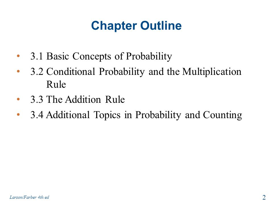 fundamental concepts of probability Basic probability concepts conditional probability an introduction to basic statistics and probability an introduction to basic statistics and probability.