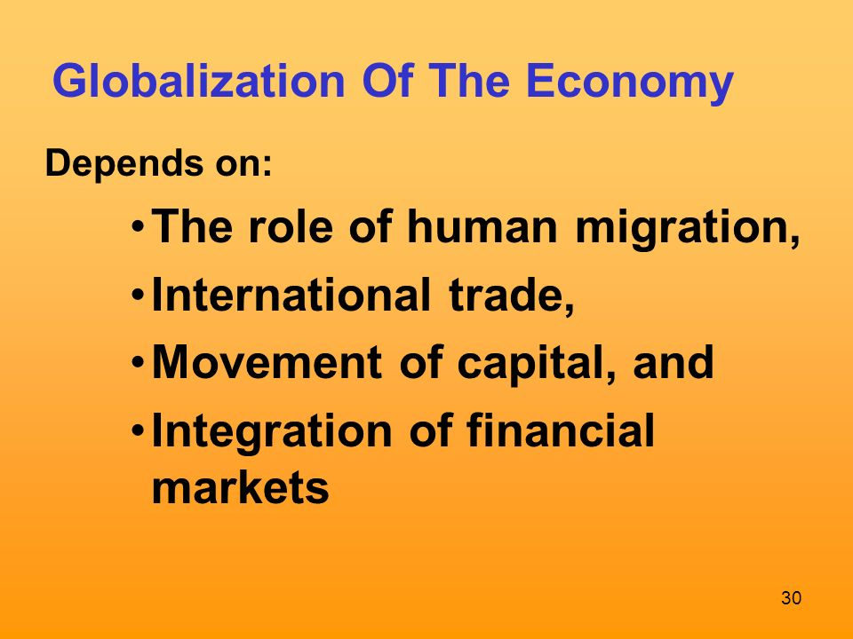 role of financial globalization The course strives to promote knowledge and understanding of financial globalization which is understood as the integration of a country's financial system with.