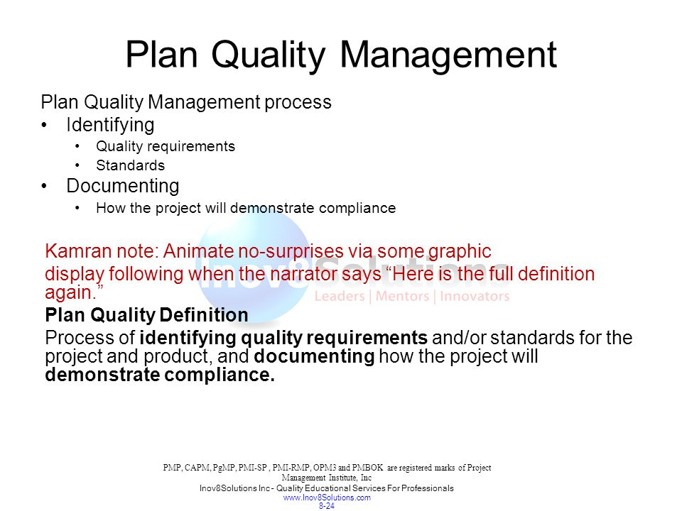 chapter 8 project quality management ppt download