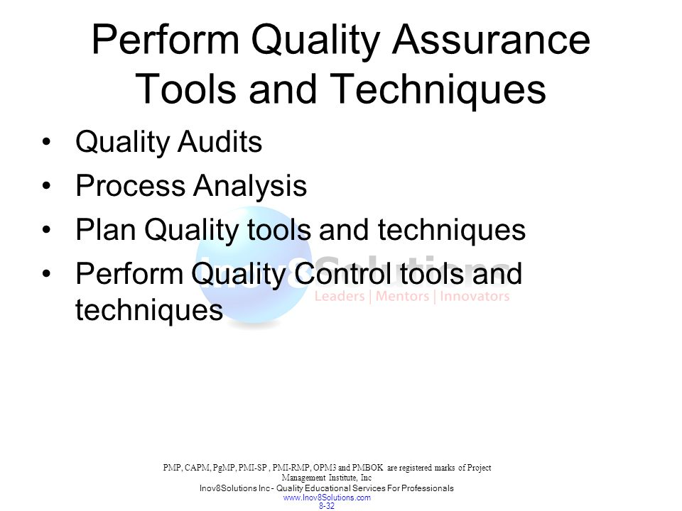 Quality Management Techniques