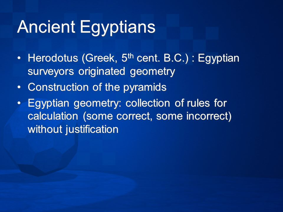 A Short History Of Geometry Ppt Video Online Download