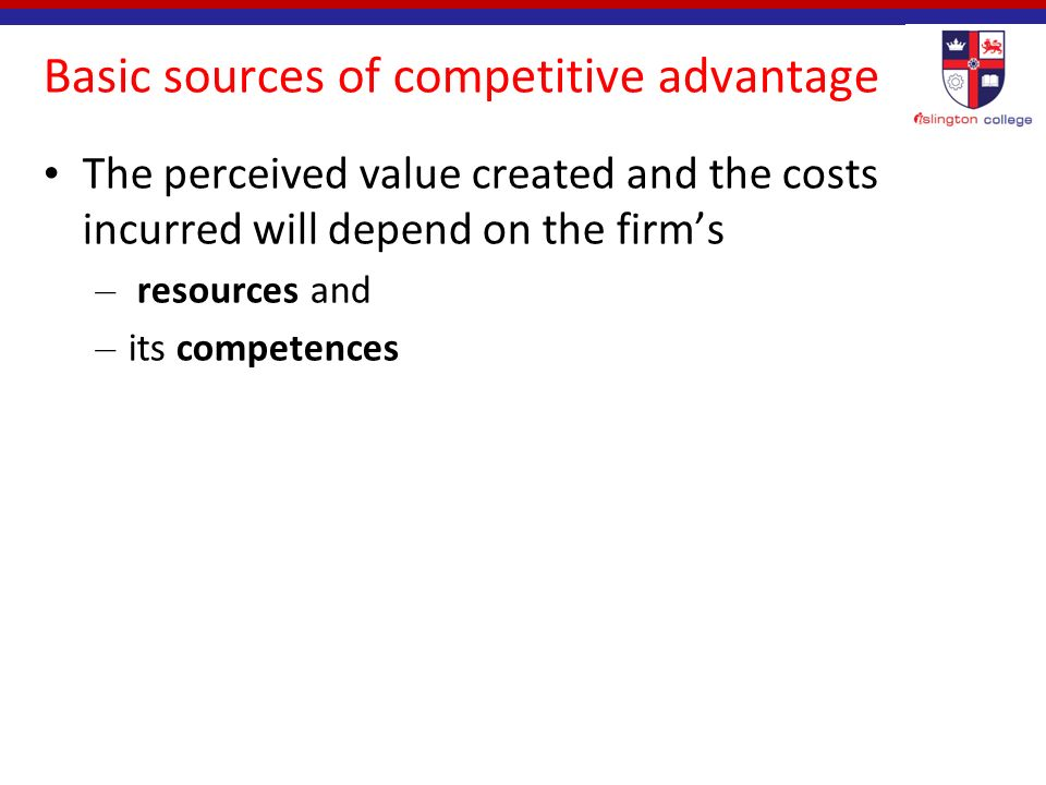 the sources of international competitive advantage Competitive advantage can be achieved either  what are the sources of google's competitive advantage  what corporate-level strategy and international strategy.