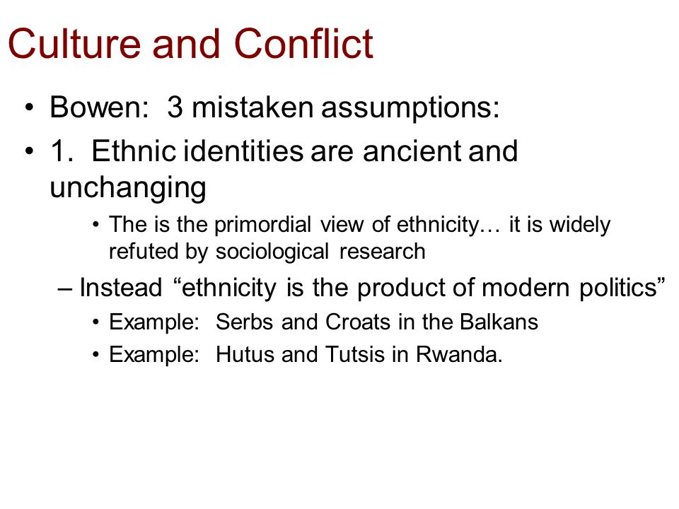 """culture and underlying sociological assumptions Underlying assumptions can impede change underlying assumptions are the source of values in a culture and what causes actions within the organization organizational assumptions are usually """"known,"""" but are not discussed, nor are they written or easily found."""
