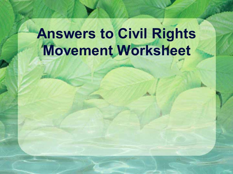 Civil rights dbq essay