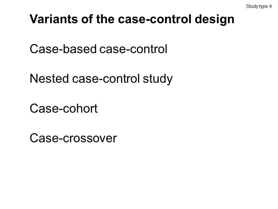 nested case control study bias Study quality assessment tools  in the tool and how each one tells you something about the potential for bias in a study  in a nested case-control study.