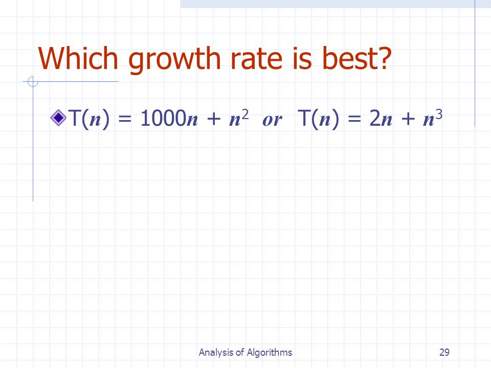Which growth rate is best