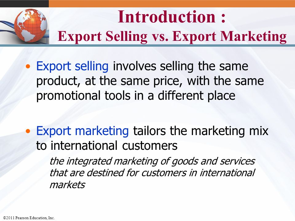 market export strategy Establishing a market entry strategy can be difficult, but by watching the following videos, you will be better equipped to enter the exciting exporting world.