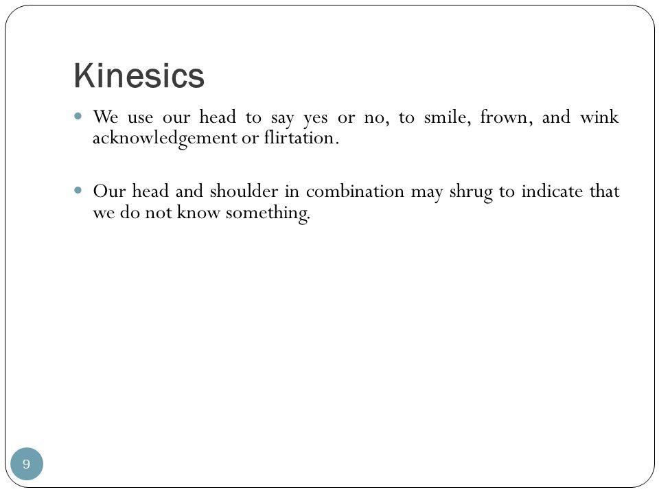 kinesics definition