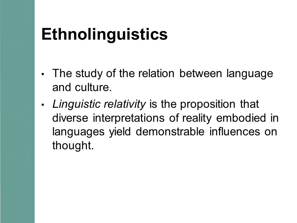 an analysis of the relationship between thought and language In linguistics, the sapir–whorf hypothesis (swh) states that there is a systematic relationship between the grammatical categories of the language a person speaks.