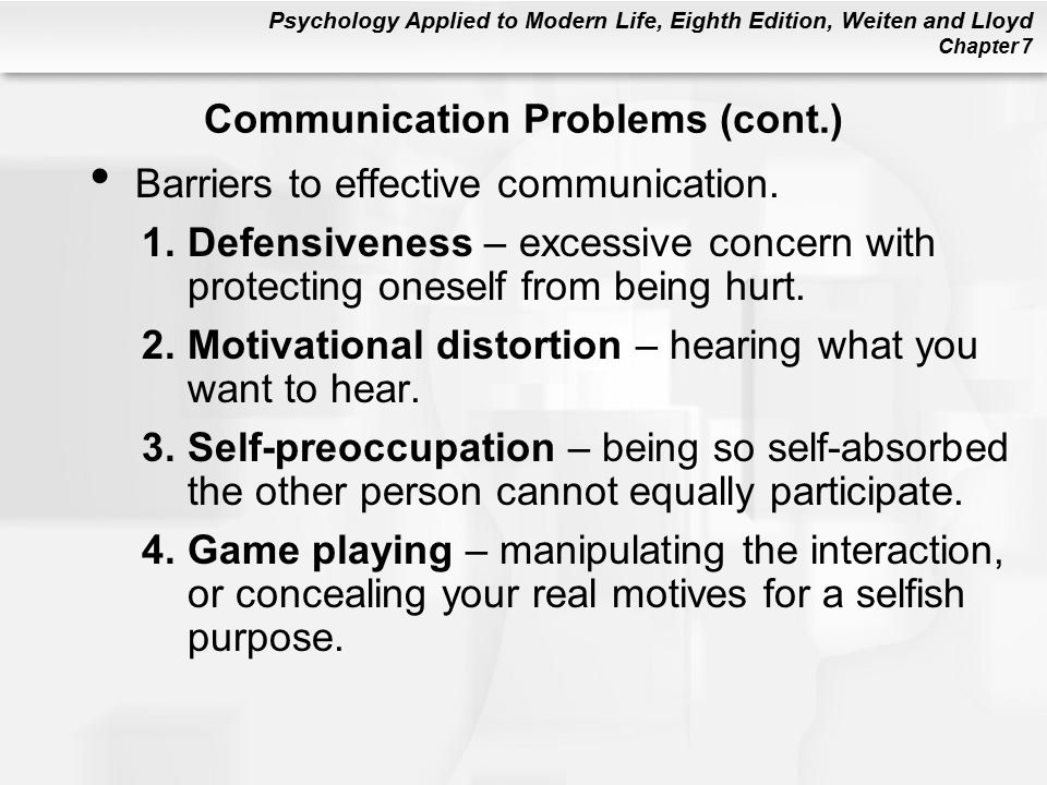 motivational barriers of communication What are motivational barriers  there are three major motivational barriers  a barrier is something you put on your penisbarriers of communication in.