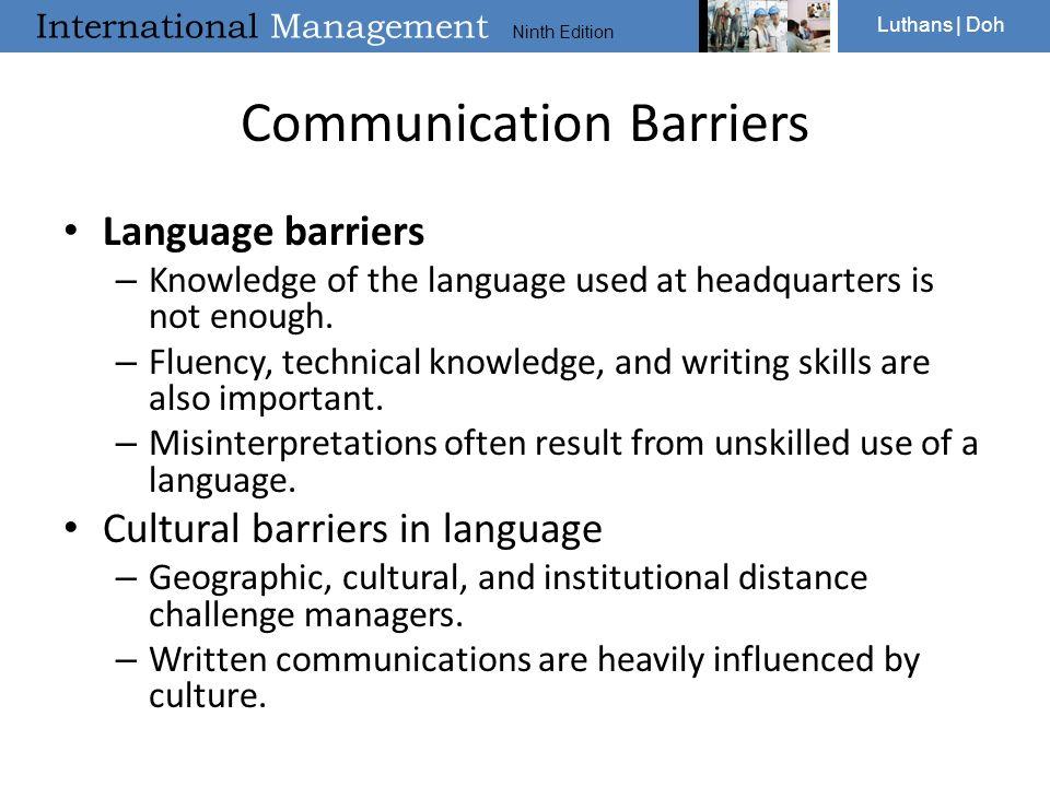 Origin of cross cultural communication english language