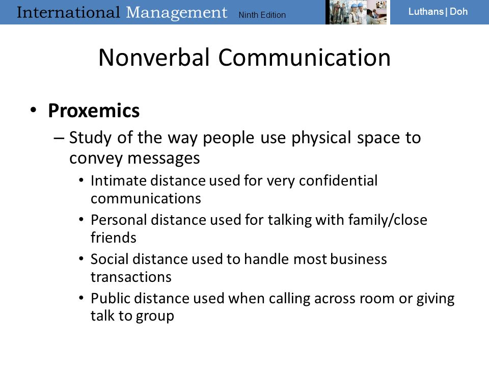 a study of nonverbal feedback Read chapter 5 nonverbal communication: human behavior forms the nucleus  of military effectiveness humans operating in the complex military system must.