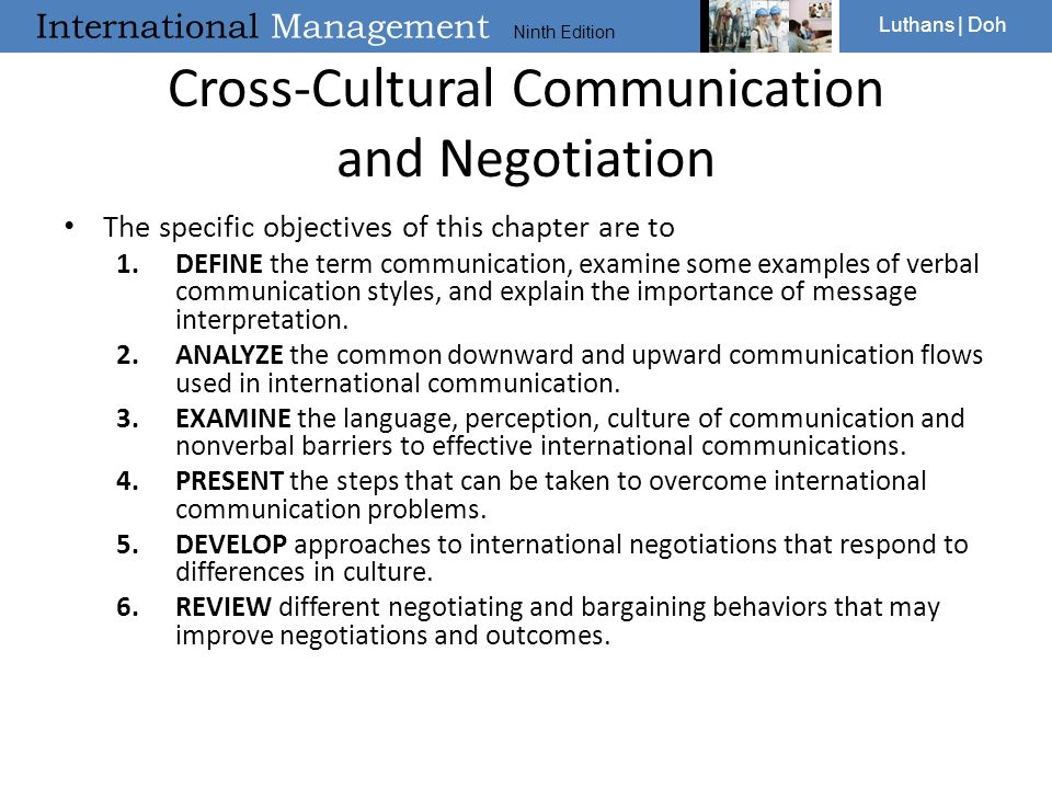 importance of cross cultural communication Is verbal communication more important or non-verbal in cross-cultural communication this debate has ignited the scholars all over the globe.