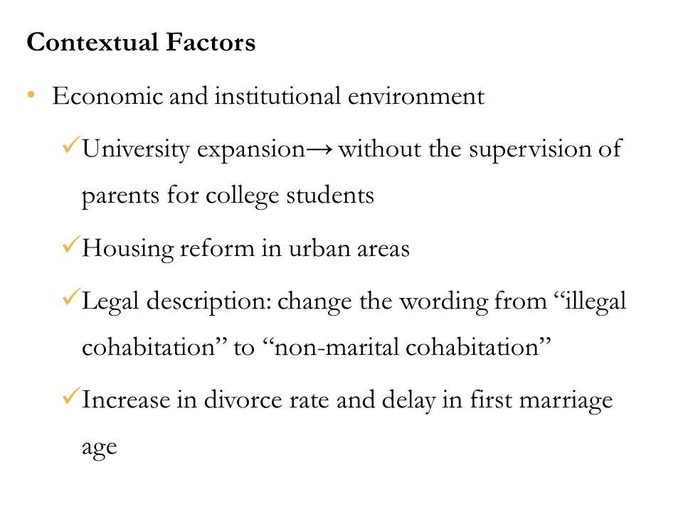 premarital sex age bracket and factors