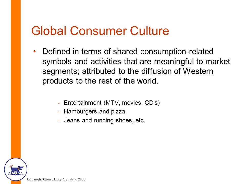 globalization of consumer culture essay