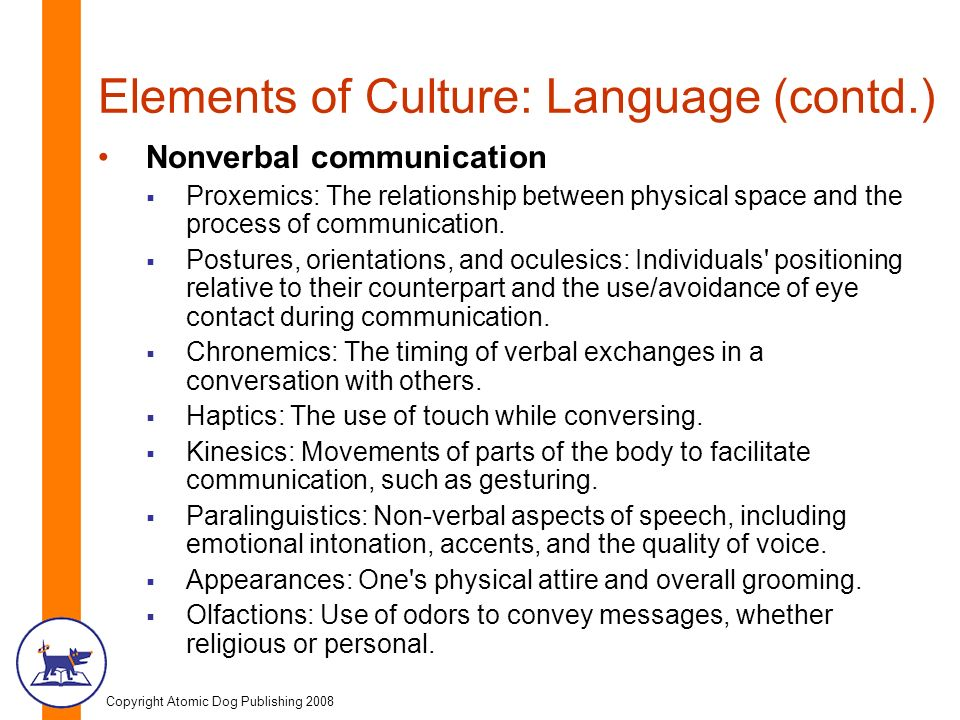 the relationship between nonverbal communication and culture