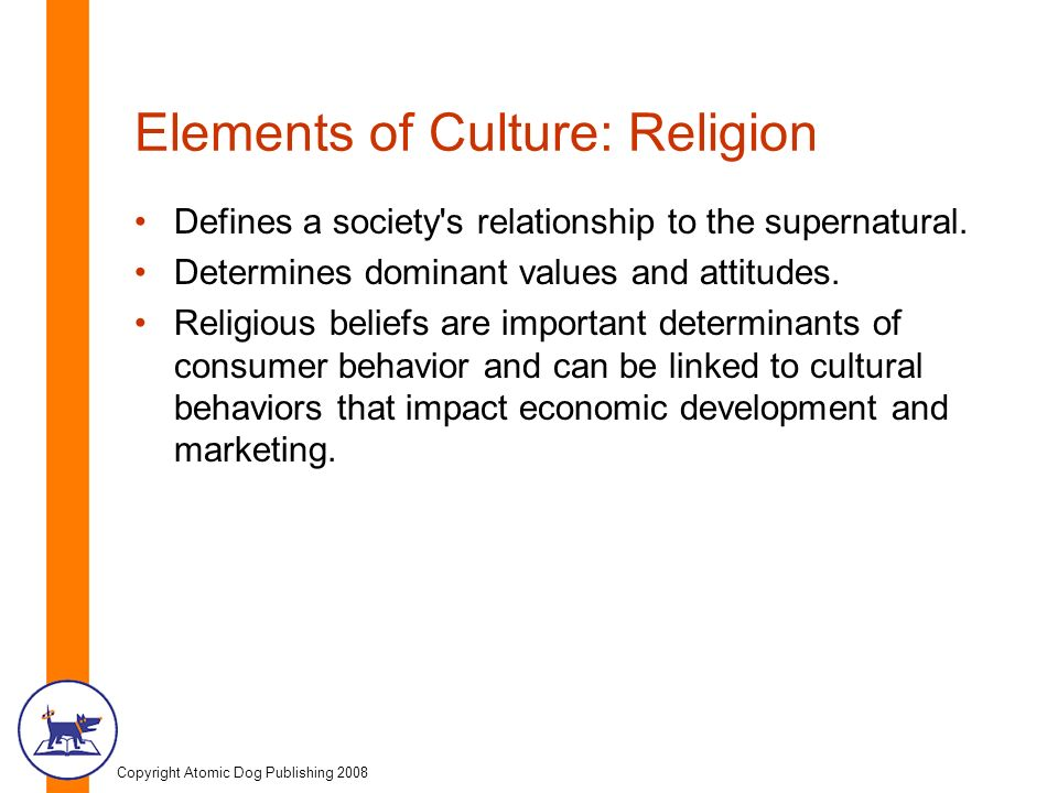 relationship of culture and religion